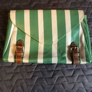Anthropologie | Holding Horses clutch purse